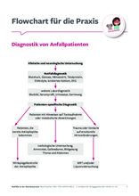 "Flowchart ""Diagnostik von Anfallpatienten"""